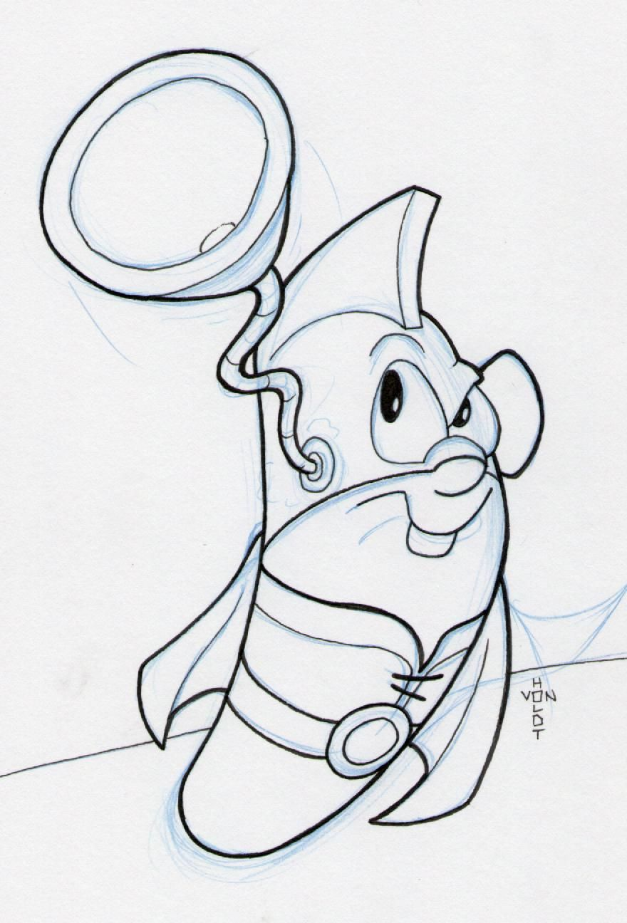 Larry Boy Cartoon By Vonholdt D2z3i92 Jpg 880 1296 Coloring