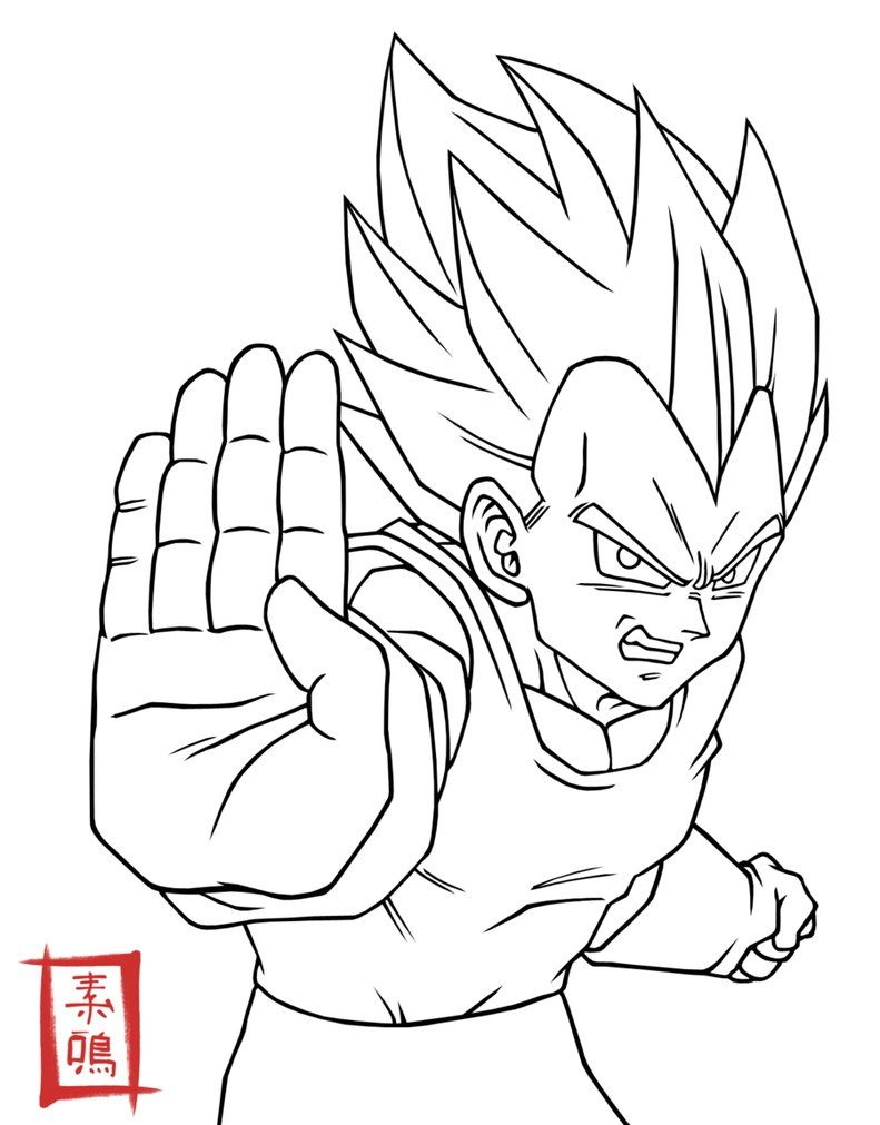 26+ Cool vegeta coloring pages ideas