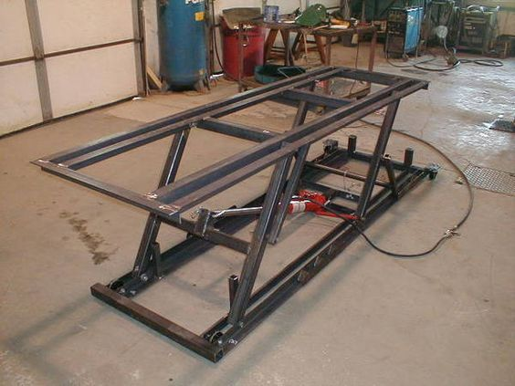 Diy motorcycle lift Car lift plans