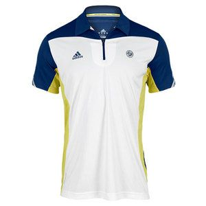 pretty nice be6ff da590 The Adidas Mens RG Tennis Polo is engineered with ClimaCool ...