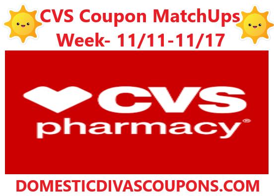 Cvs Coupon Matchups Week 11 11 11 17 Cvs Couponing Coupon Matchups Coupons