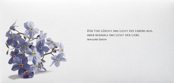 Pin Auf Trauerkarten In Memoriam Cards