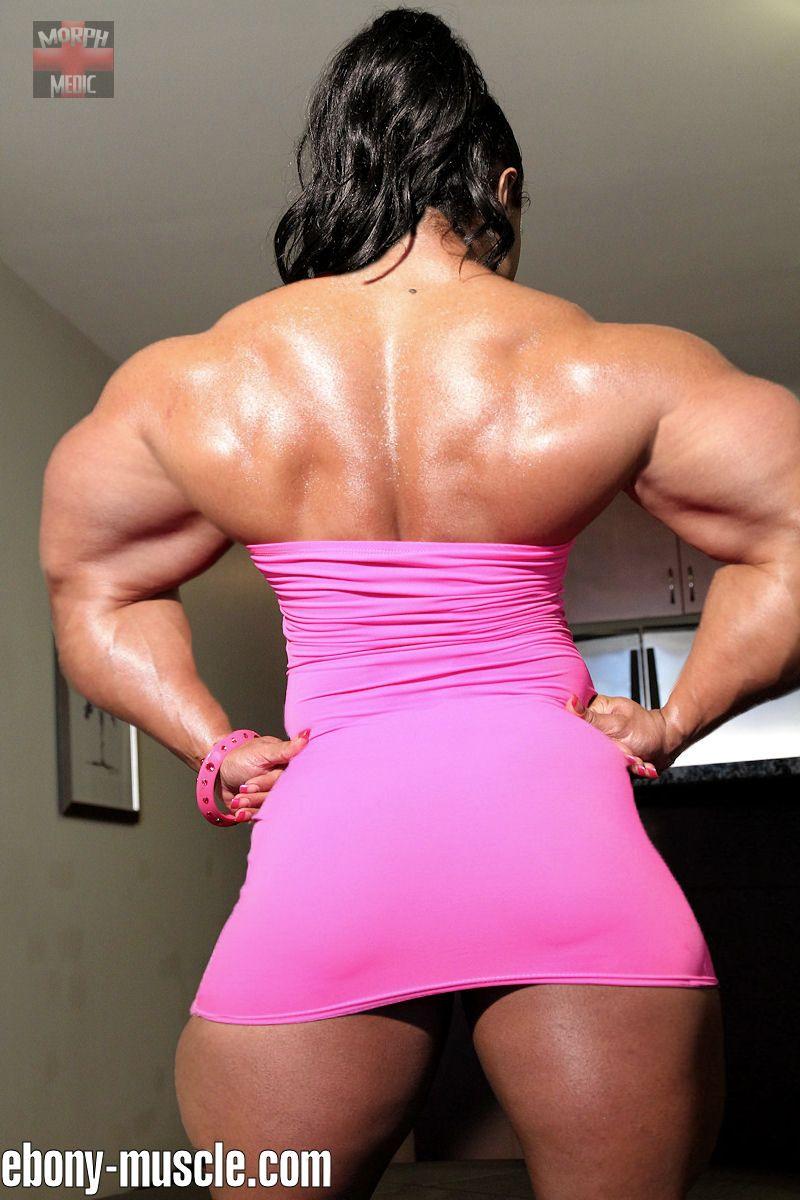 Kashma Maharaj Mega Back | Morphed Female Muscle ...