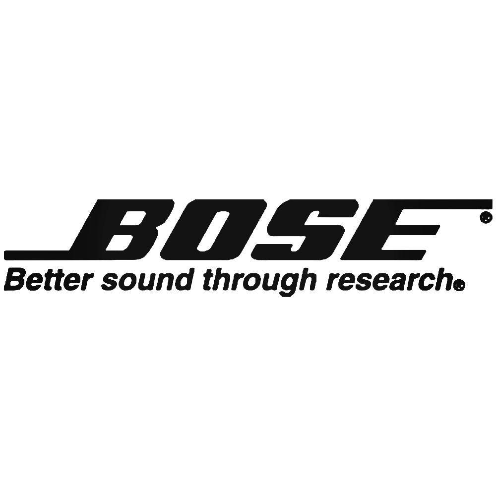 Bose Audio Systems Logo Sticker | Pinterest