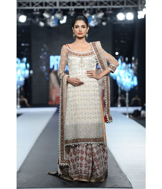 Layla Chatoor has been creating ethereal bridal trousseau since 1994. She recently made her debut at Loreal Paris Bridal Week this year after her recent staggering showcase at the launch of PFDC Boulevard, India. She is renowned for her exotic miniature detailing and thread work that exudes panache and elegance down to the last stitch.