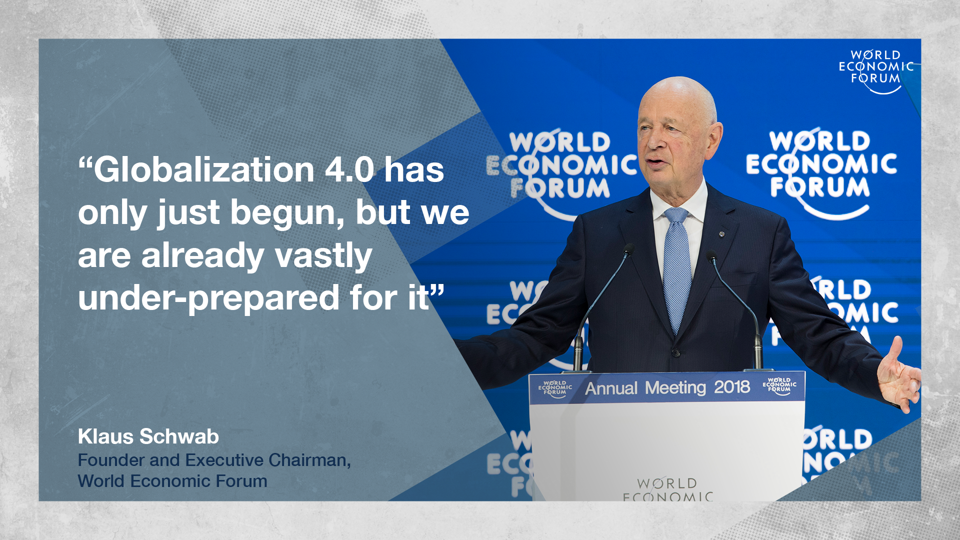 Charles Schwab Co Inc. Klaus Schwab Founder And Executive Chairman World Economic Forum Joseph R Biden Jr Vice President Of The United States Of America At The Annual Meeting 201