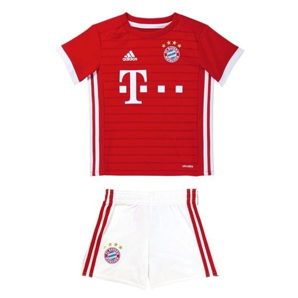 Camiseta Bayern Munich Ninos Primera 2016-17  a8a3eb8469b83