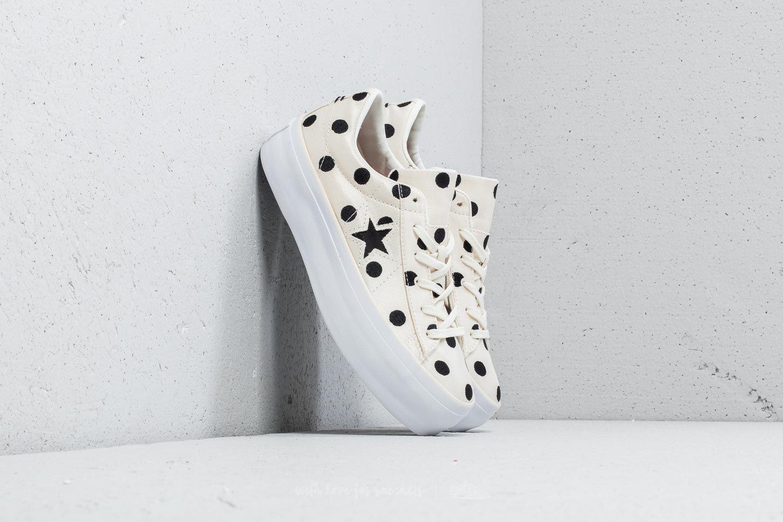 converse one star platform ox white