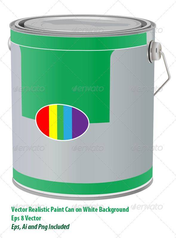 Paint Can Paint Cans Vector Graphics Design Painting