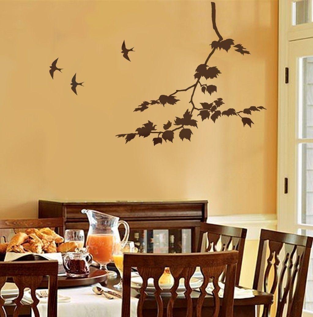 Decorative Wall Stencils Home Decor And Design Contemporary Bedroom ...