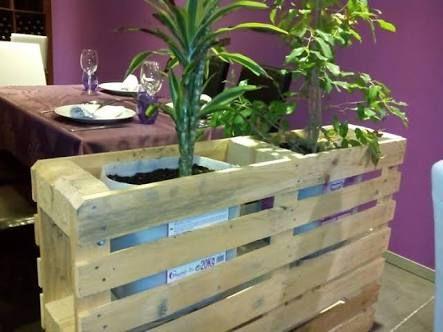 maceteros hechos con palets de madera ile ilgili görsel sonucu ...