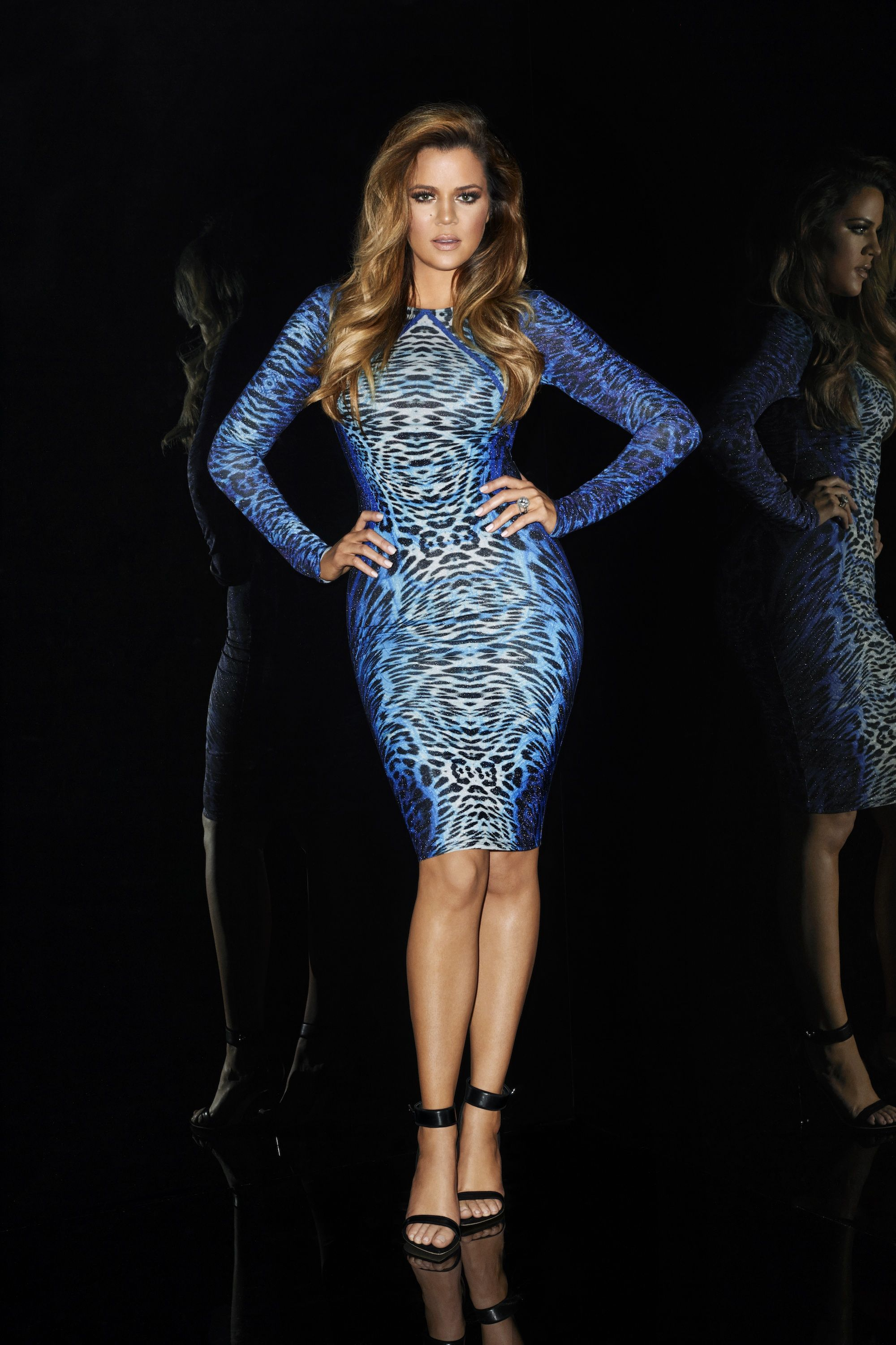 Khloe Kardashian in the Animal Print Bodycon Dress. Available today at Lipsy .co.uk 686279d04