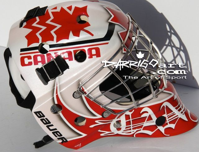Team Canada World Junior Hockey Championship Masks In 2020 World Junior Hockey Team Canada Hockey