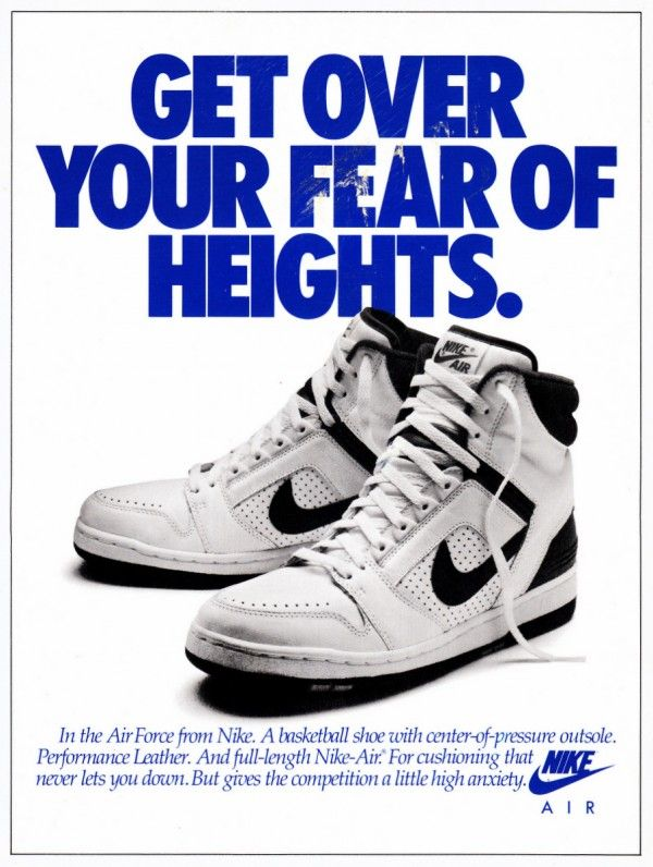 Even More Vintage Nike Ads | Chaussures nike, Nike et Chaussure