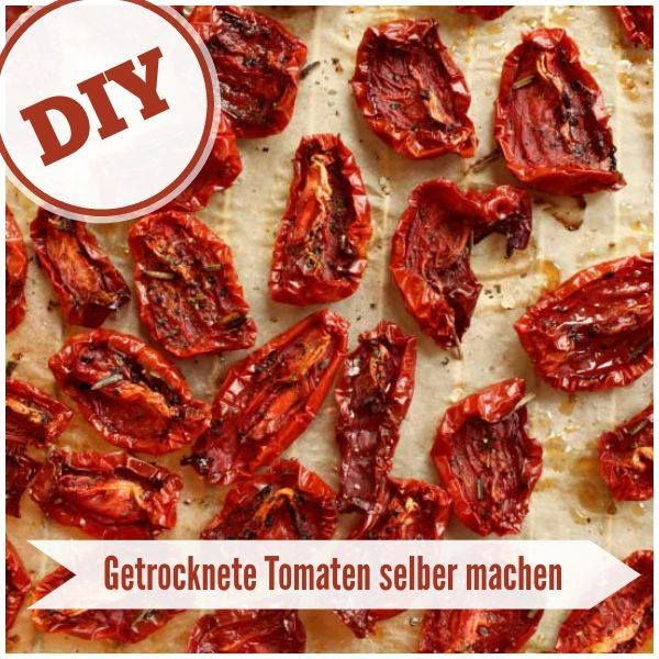 Tomaten selber trocknen #obstgemüse