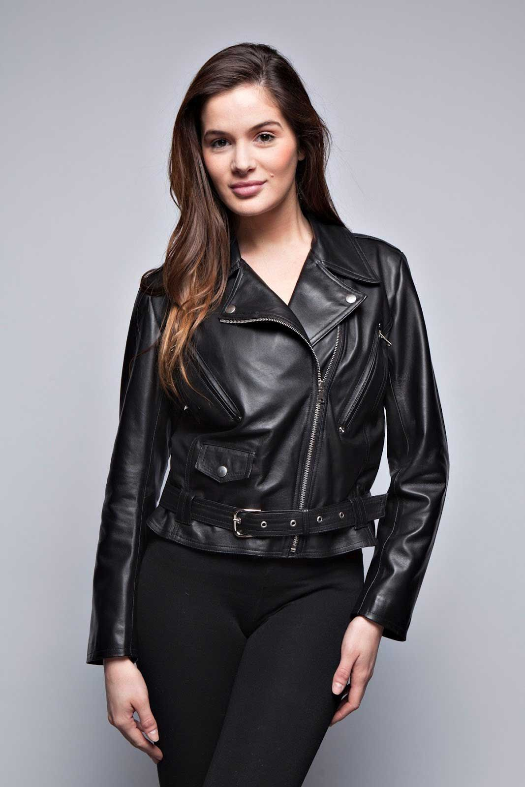 1000  images about Leather fashion on Pinterest | Leather jackets