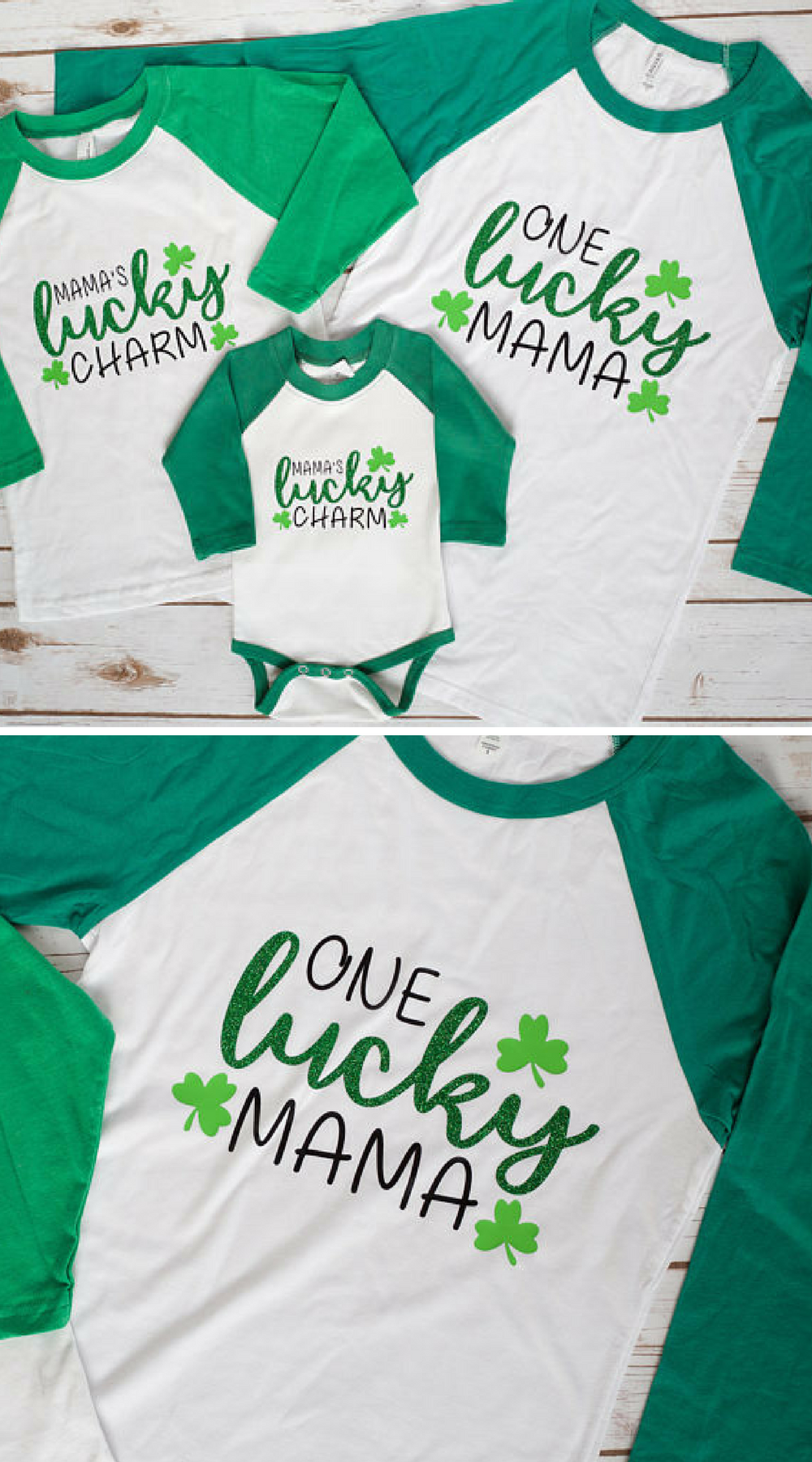 Mommy and Me St. Patrick s Day Shirts 9a9127724b0d