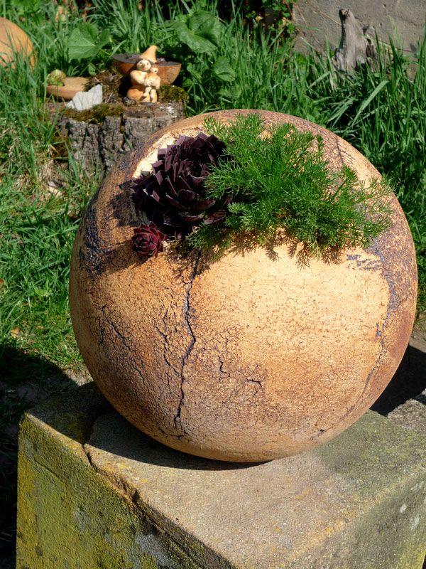 bildergebnis fuer keramik garten kugel spheres moon