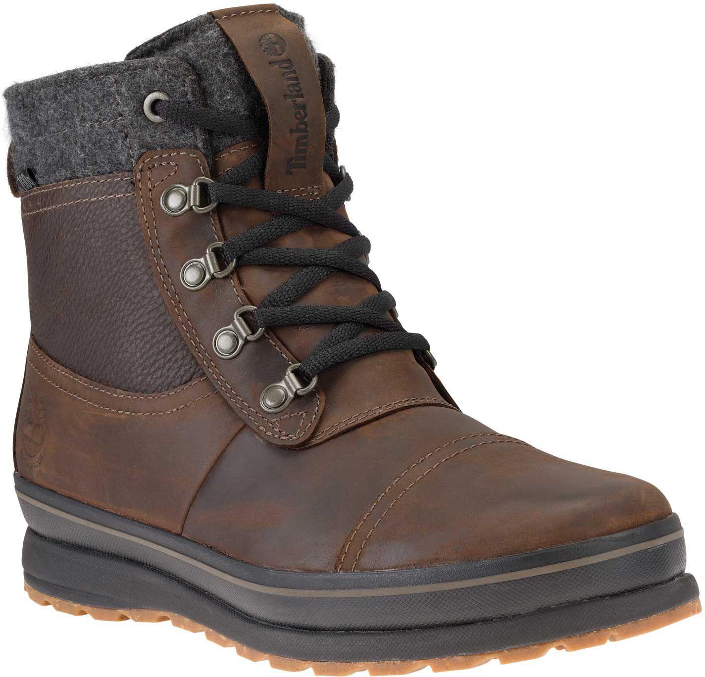 91b9c3651a29 Timberland Men s Schazzberg Mid 200g Waterproof Winter Boots ...