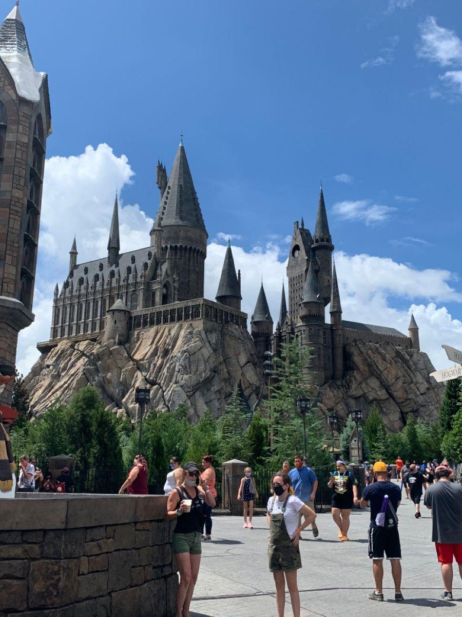 Hogwarts Island Of Adventure Fl Universal Studios Orlando Harry Potter Harry Potter Universal Studios Hogwarts Universal Studios