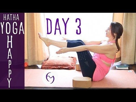 day 3  hatha yoga happiness getting rid of clutter with