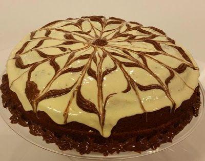 تحضير ماربل كيك Desserts Food Cake