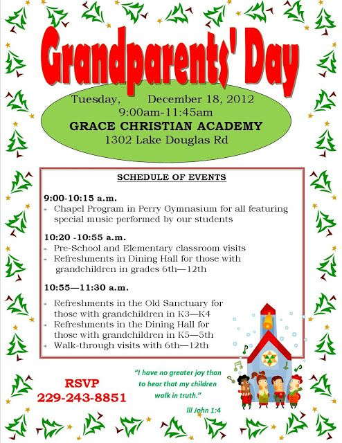 Grandparents Day Invitation For School Yahoo Image Search Results Grandparents Day School Events Elementary Teacher