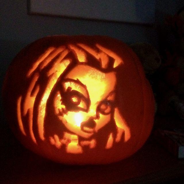 Monster high pumpkin! Love it | hAlLoWeEn | Pinterest ...
