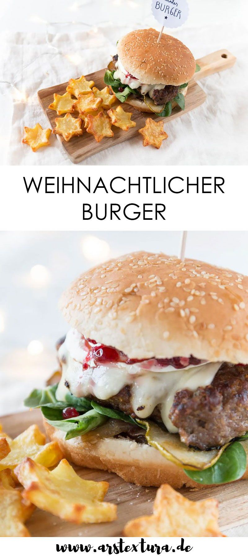 Photo of * 8 * Winter burger with star fries ars textura – DIY blog