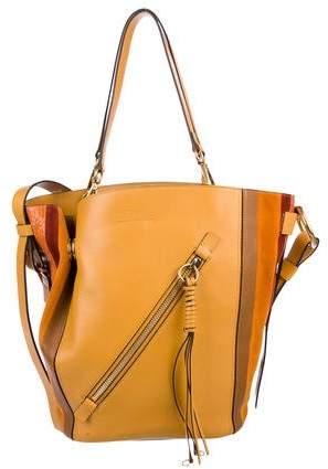 Chloé Myer Medium Leather Tote Totes Chloe Handbags Bags