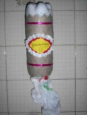 Guarda bolsas buscar con google reciclando ando - Dispensador bolsas plastico ...