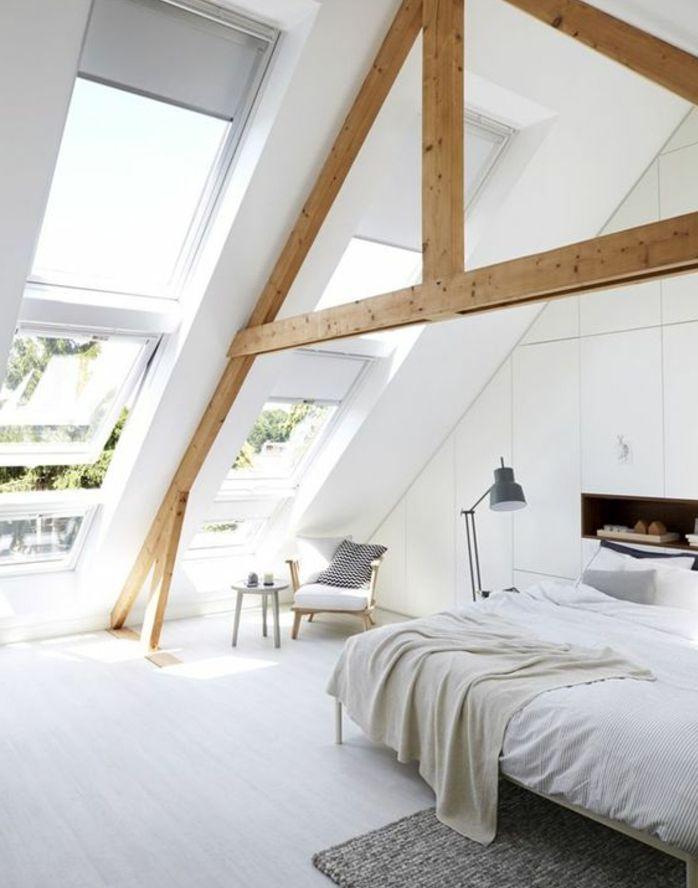 Tapis Sous Lit ▷1001+ idées déco de chambre sous pente cocoon | chambre à coucher