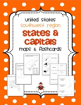 Us Southwest Region States Capitals Maps 3rd Grade Us - Map-southwest-region-us