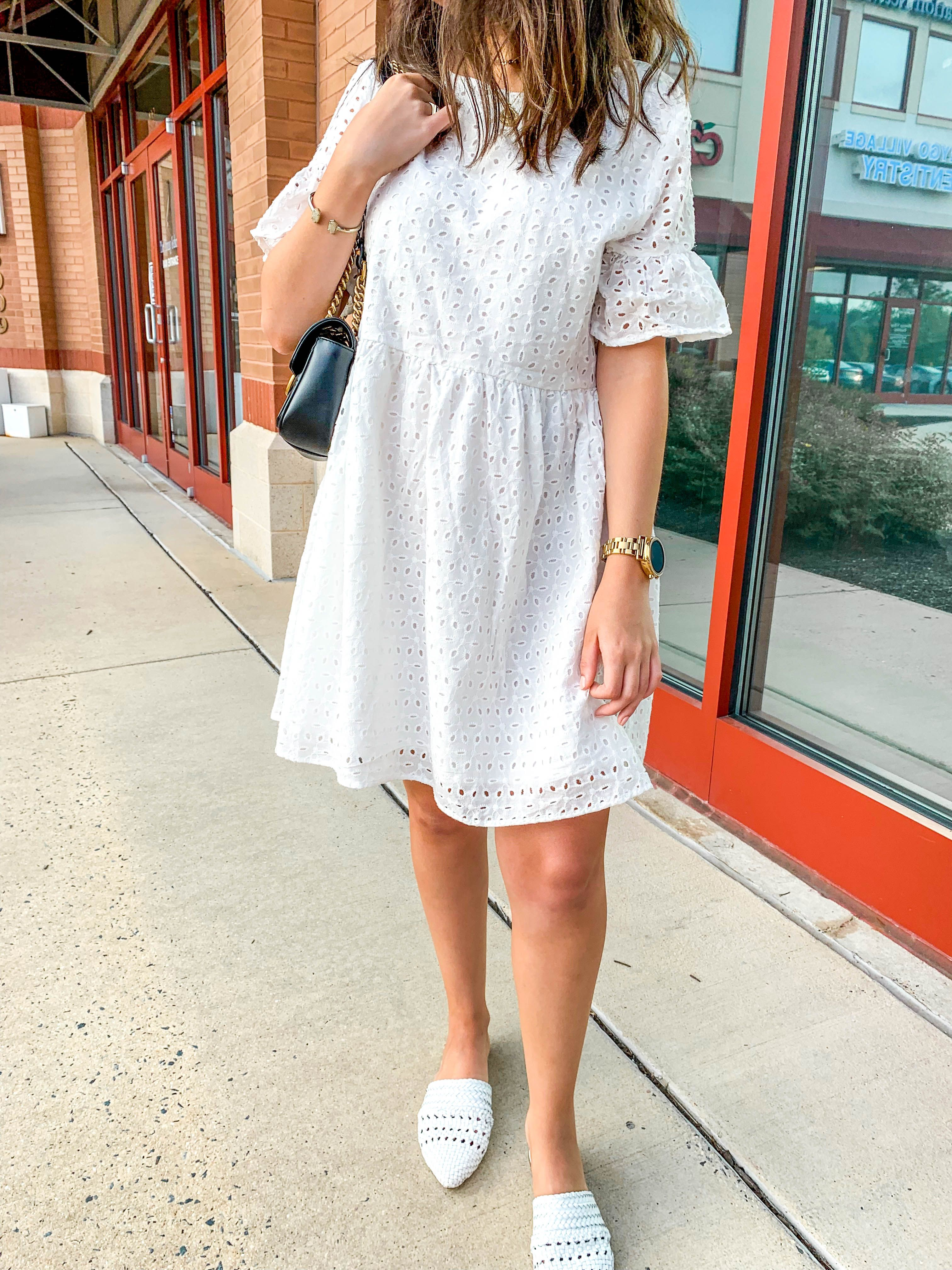 Babydoll Dresses The Silhouette I M Obsessed With This Summer The Dainty Details Fashion Babydoll Dress Outfit Dresses [ 4032 x 3024 Pixel ]