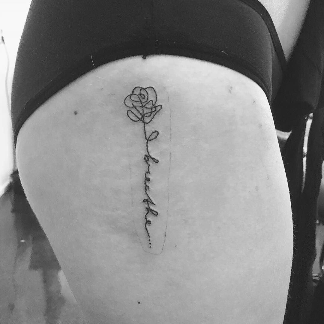 50 Thigh Tattoos That Won T Steal The Spotlight From Your Cute