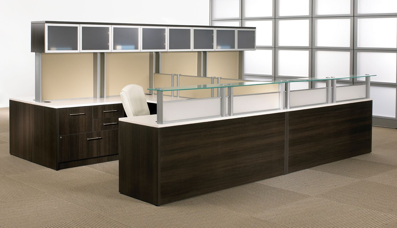Tayco collaborate poste de réception reception furniture