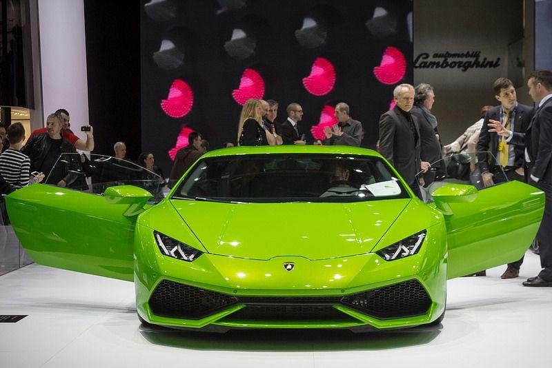 Lamborghini HURACAN, face