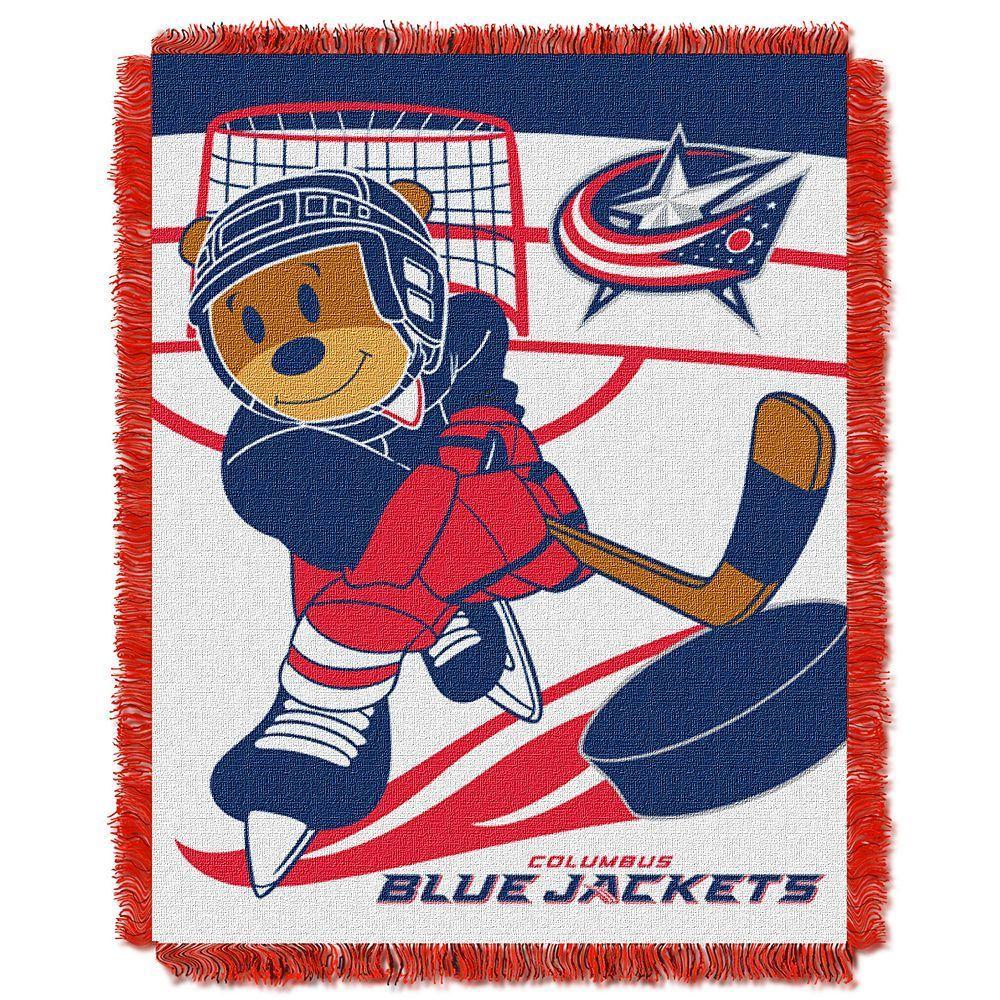 Kohl s Columbus Blue Jackets Baby Jacquard Throw  c40049d64