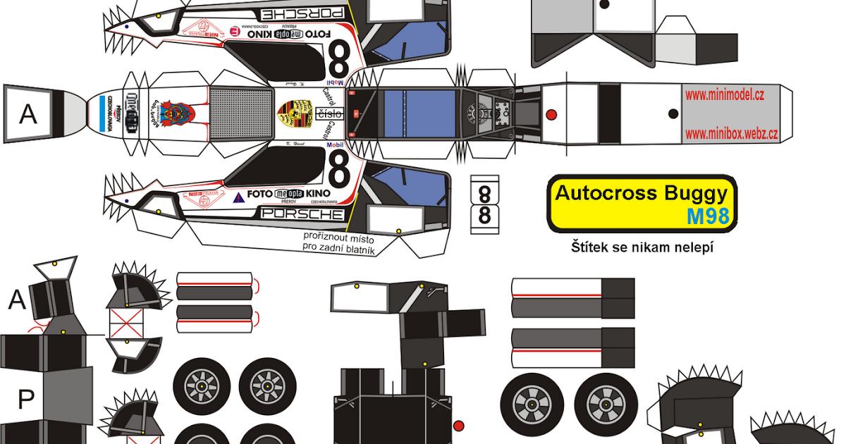 papercraft racing trucks desenhos para colorir em geral autocross