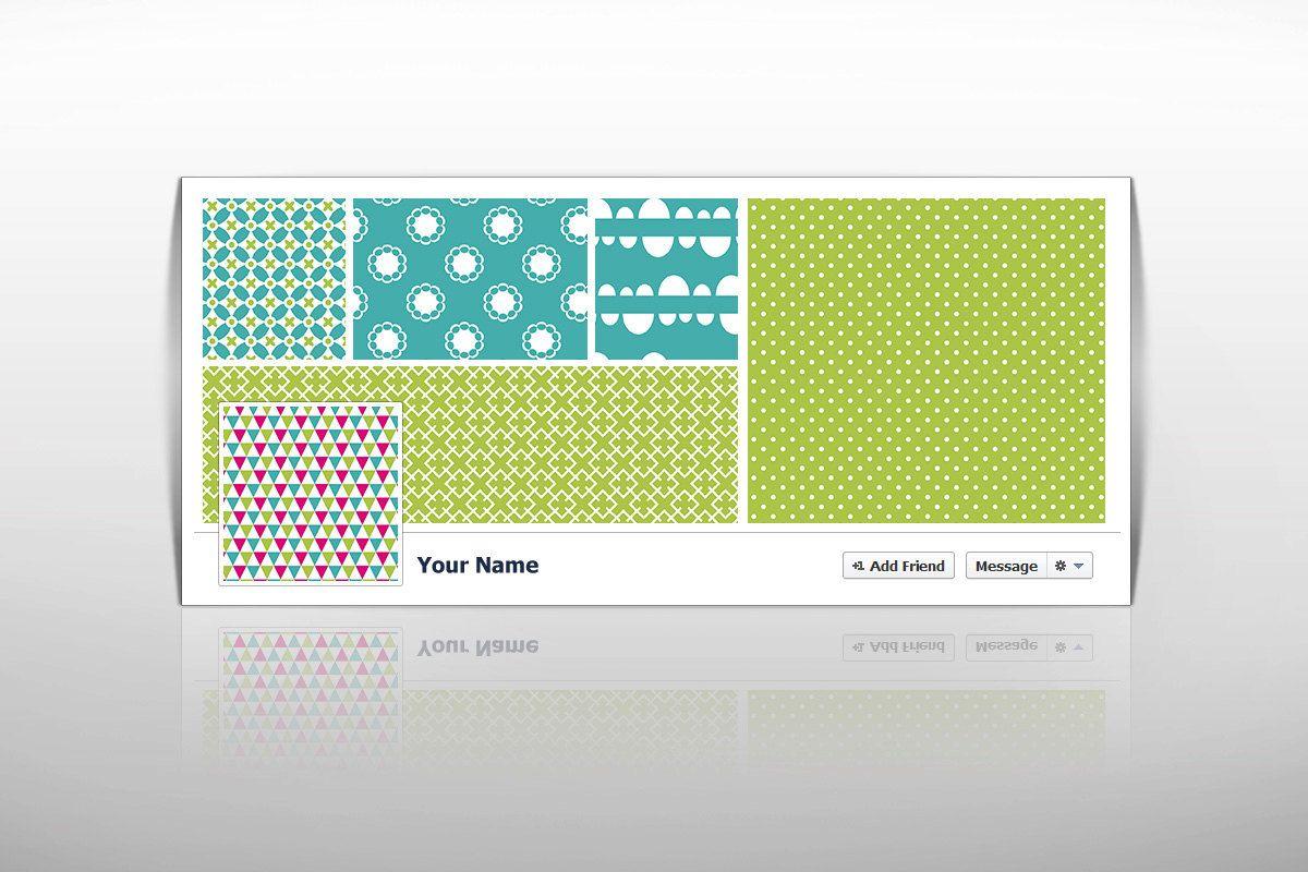 Premade Facebook Timeline Cover Instant Download DIY Template Blank Banner For 099