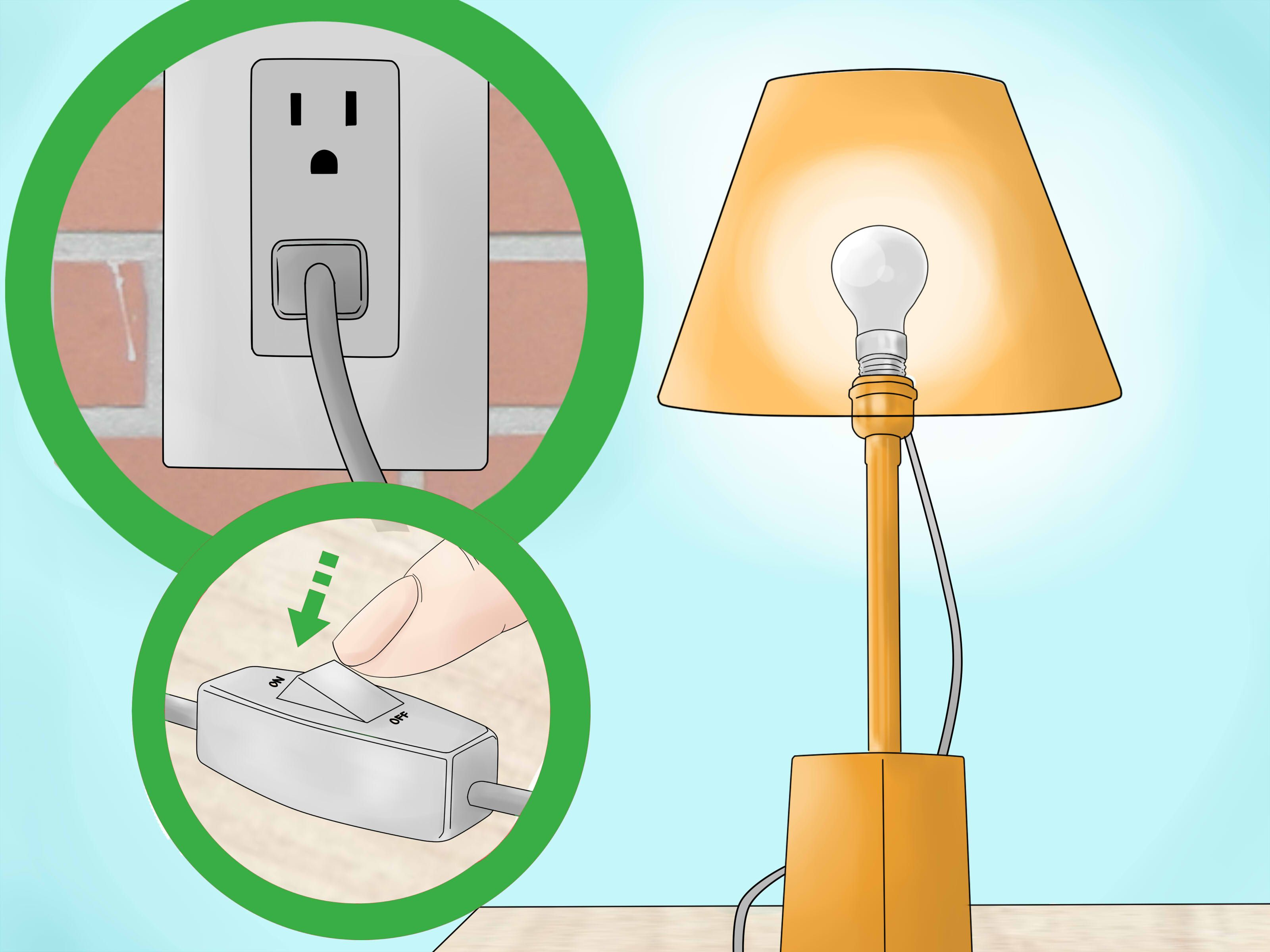 Replace A Lamp Switch Lamp Switch Table Lamp Lighting
