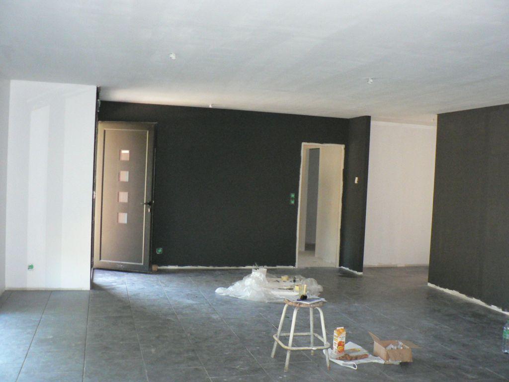 d coration salon salle manger gironde 33 salon mur gris fonte dulux valentine. Black Bedroom Furniture Sets. Home Design Ideas