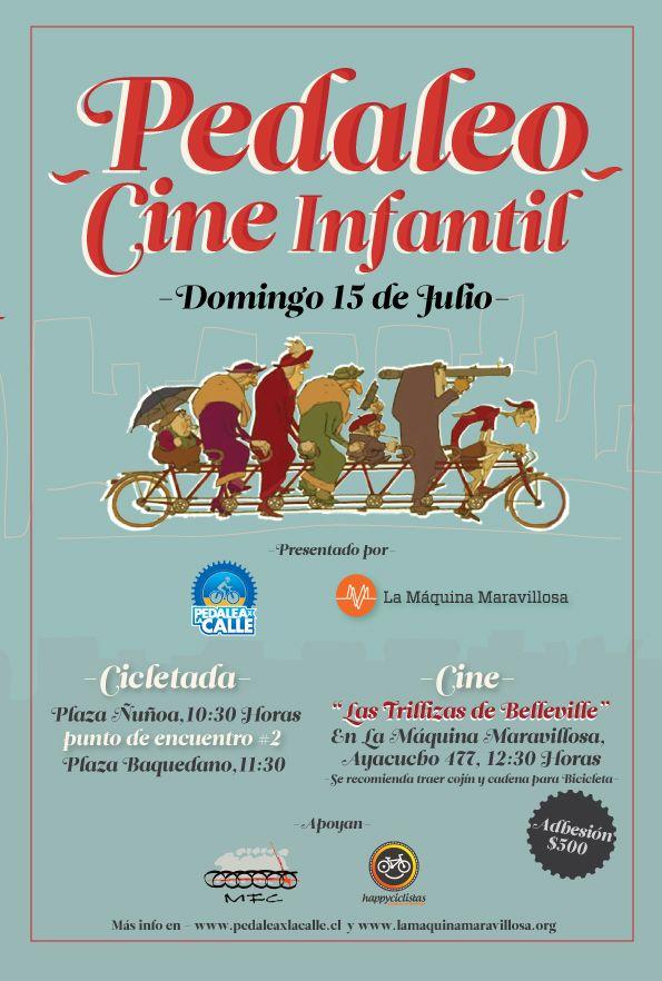 Pedaleo Cine infantil en LMM