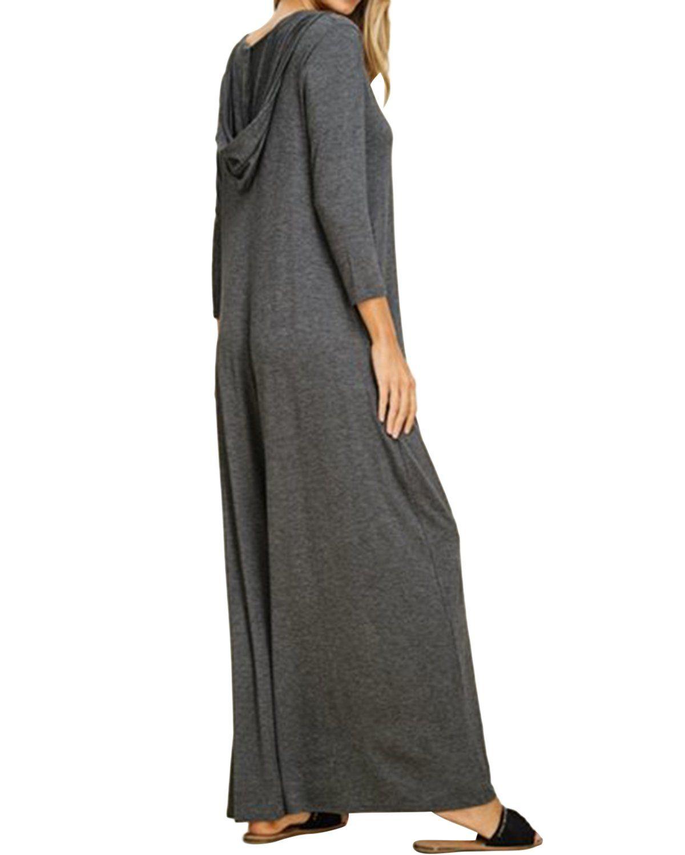 Jacansi Women Plus Size Vneck Long Sleeve Pullover Hoodie Sweatshirt Dress Dark Gray 2xl Click Image Long Hoodie Dress Hoodie Sweatshirt Dress Hoodie Dress [ 1500 x 1200 Pixel ]