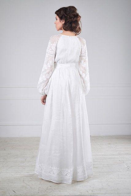 Сукня весільна вишита  27e60014f8a75