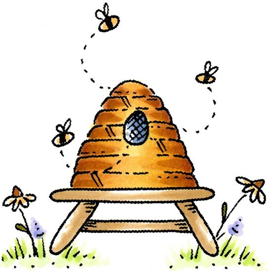 bee hive clip art yahoo image search results things i heart rh pinterest ie  clipart honey bee hive