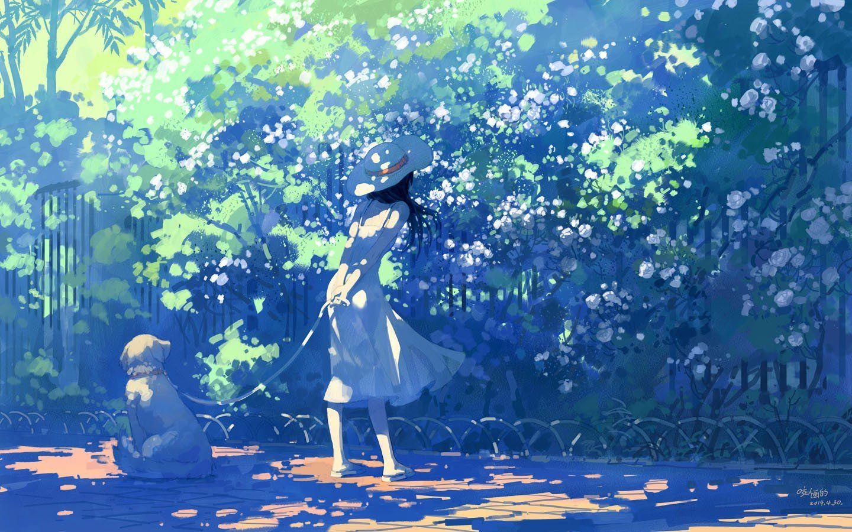 Anime Scenery Summer Anime Phong Cảnh Dễ Thương