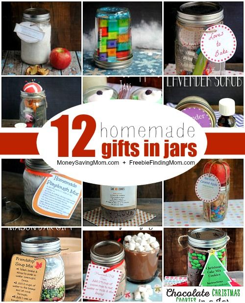 Do it yourself 12 gifts in a jar ideas geschenken Do it yourself christmas gifts
