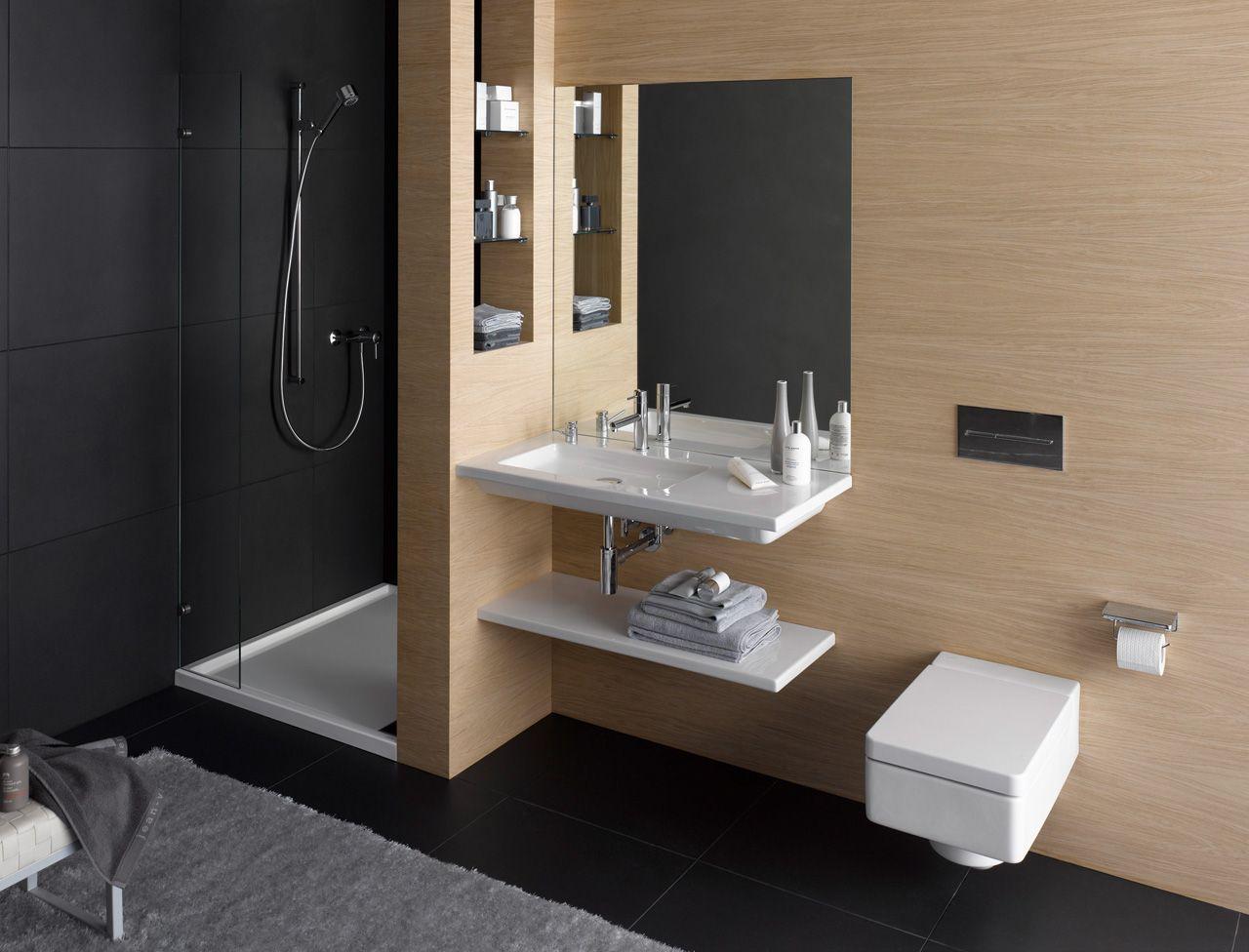 Petites salles de bains nos id es d co petites salles - Idee deco salle de bain petite ...