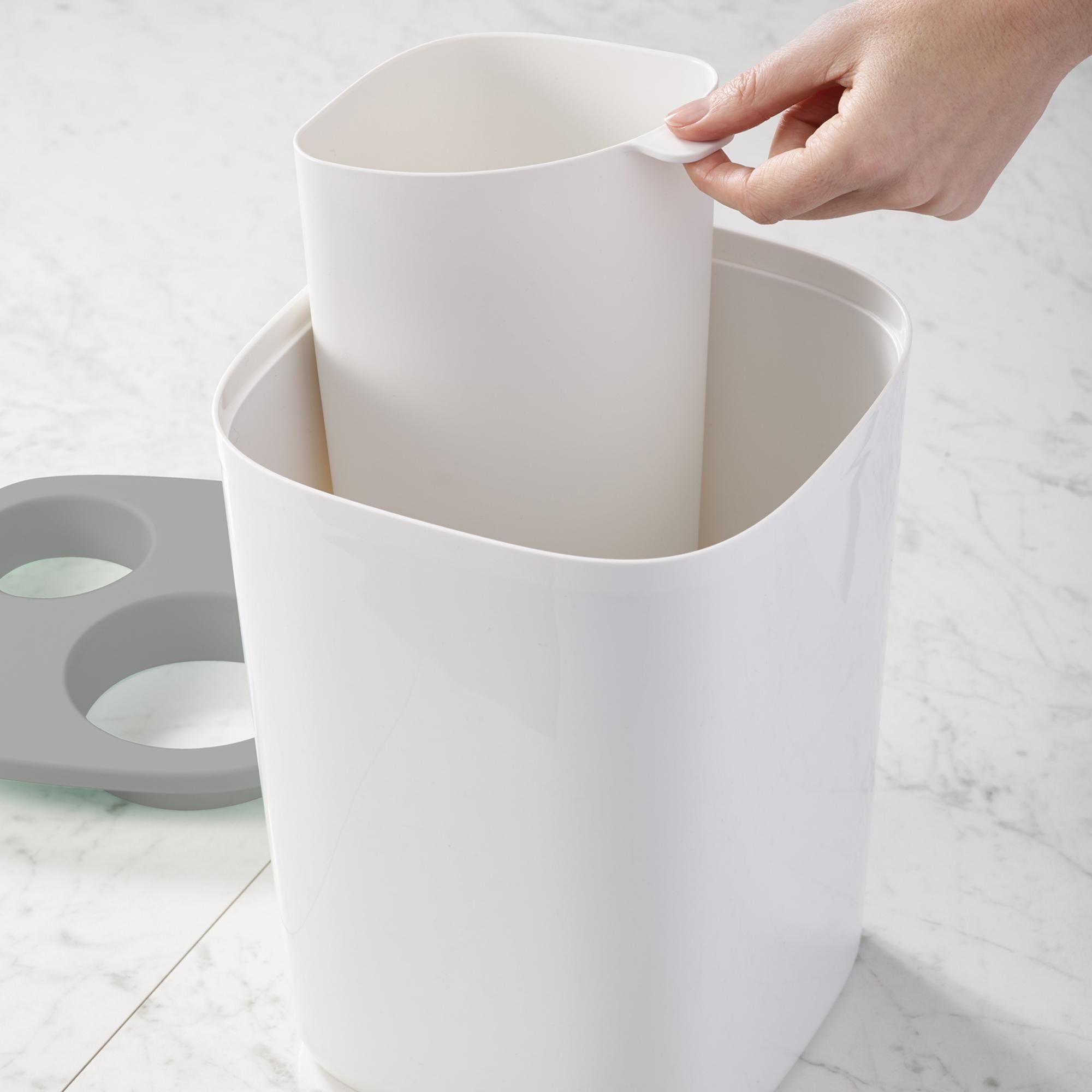 Joseph Joseph Grey Waste Separation Bin In 2020 Joseph Joseph Recycler Bathroom Bin